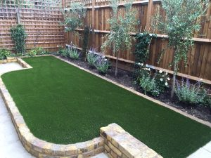 We also install artificial grass